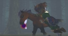 Skull Kid on Epona