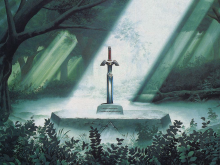 Master_Sword_in_the_Lost_Woods
