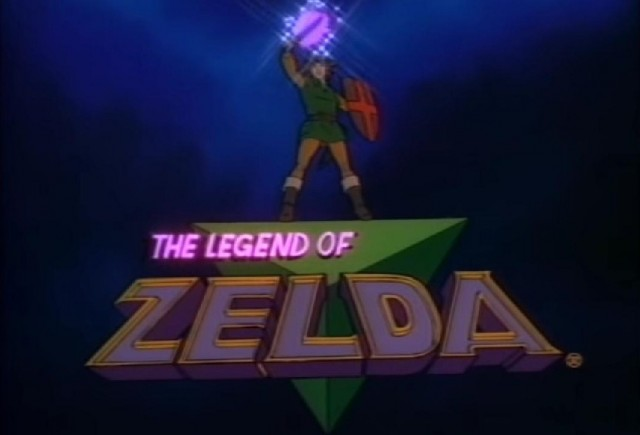 Zelda Cartoon Logo