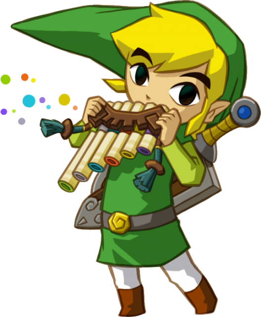 Link_Playing_Spirit_Flute