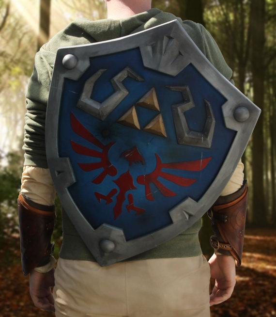 Hylian Shield Replicas For Sale On Etsy Zelda Dungeon
