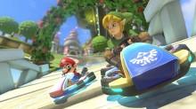 Link Mario Kart