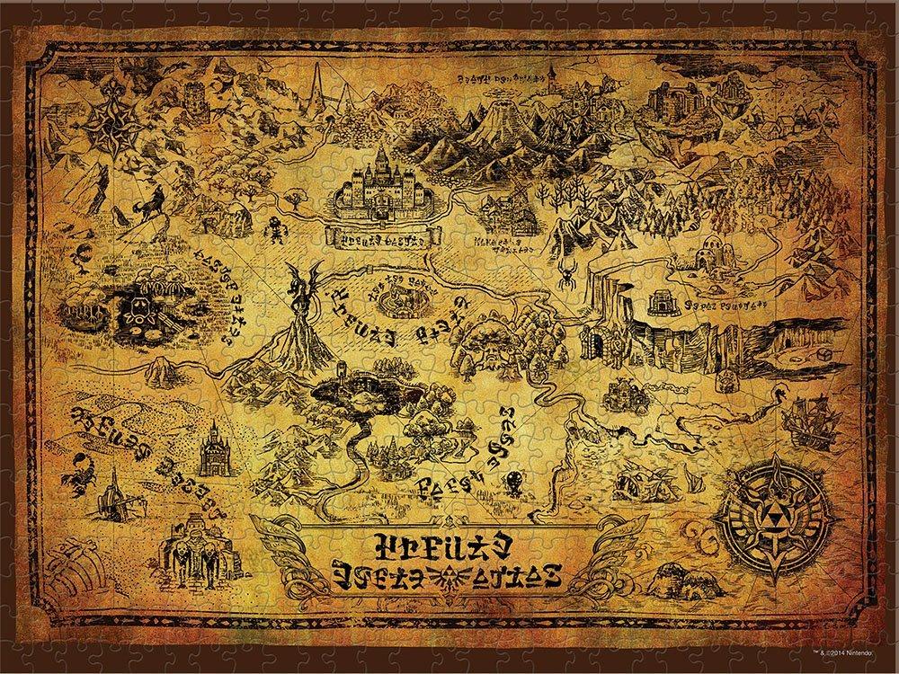 Usaopoly legend of zelda jigsaw puzzle zelda dungeon puzzle gumiabroncs Gallery