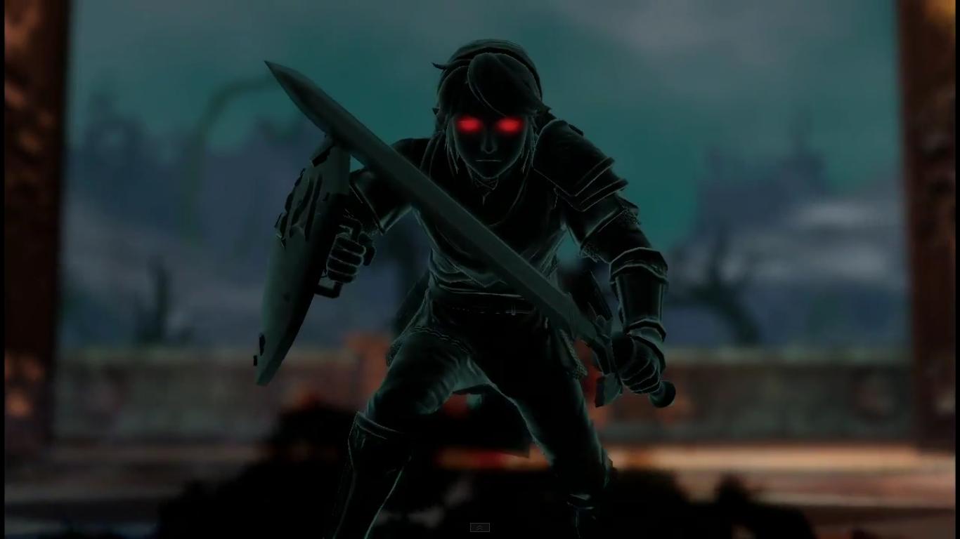 dark link � zelda dungeon