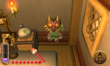 Link and Majora's Mask