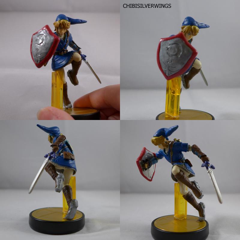 Custom Link Amiibo Figures Zelda Dungeon