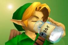 Link-drinking-Milk-the-legend-of-zelda-32705249-1024-738-3500