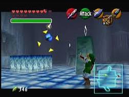 Link shooting Keese