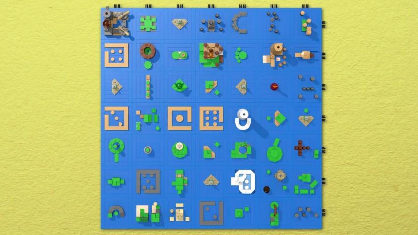 Lego the wind waker sea chart zelda dungeon