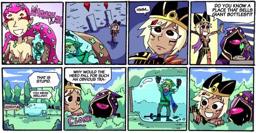 Hyrule Warriors Fan Comic Zelda Dungeon