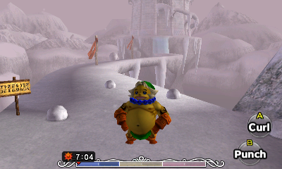 The Legend of Zelda Majora's Mask 3D Goron