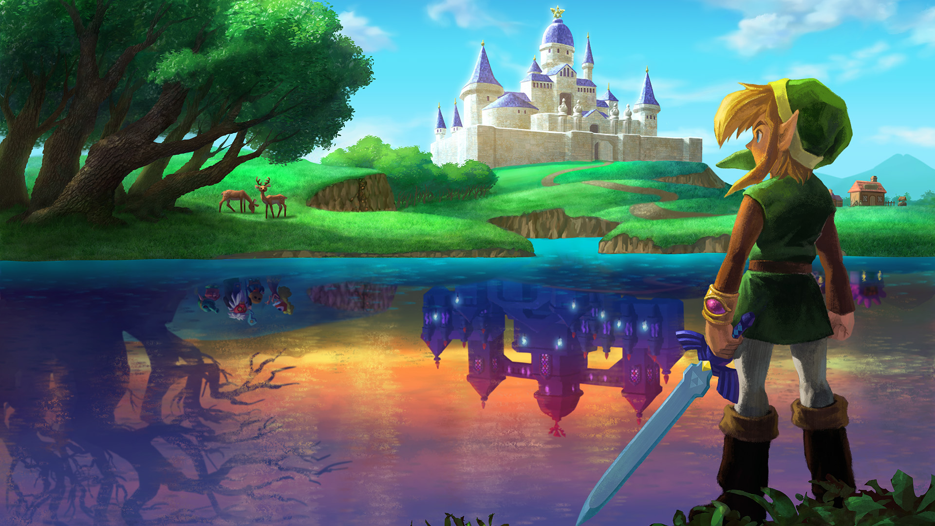 A Knock Out Zelda Sale Including A Link Between Worlds The