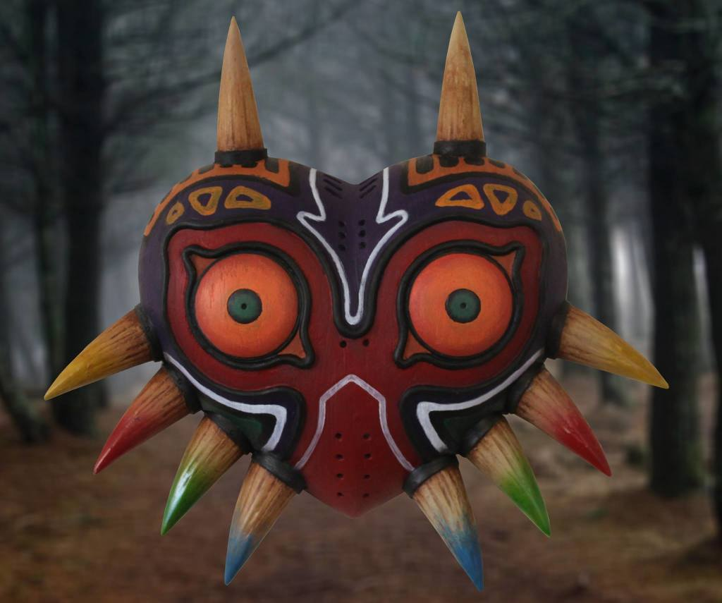 Full Size Replica of Majora's Mask Available on Etsy – Zelda Dungeon