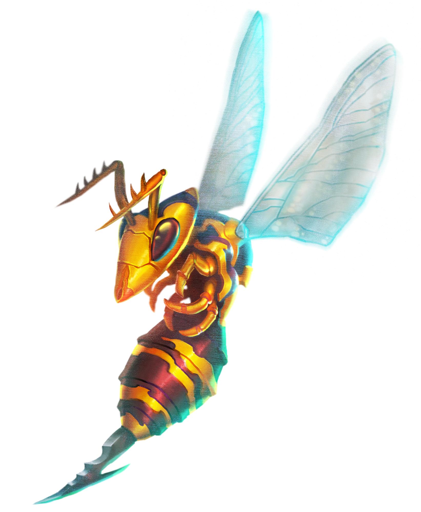 Brendan Milos Majora's Mask Artwork – Giant Bee – Zelda Dungeon