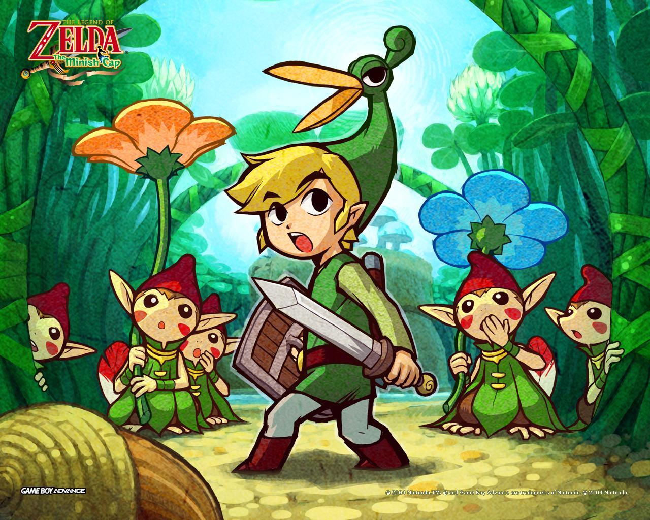 Resultado de imagen de The Legend of Zelda: The Minish Cap