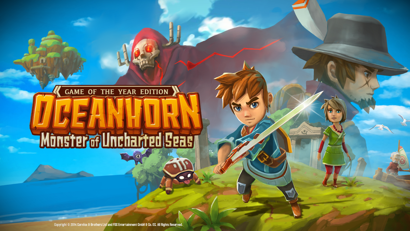 Game Oceanhorn Monster of