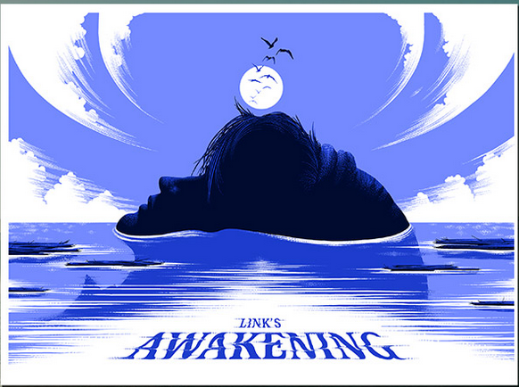 links awakening poster 2