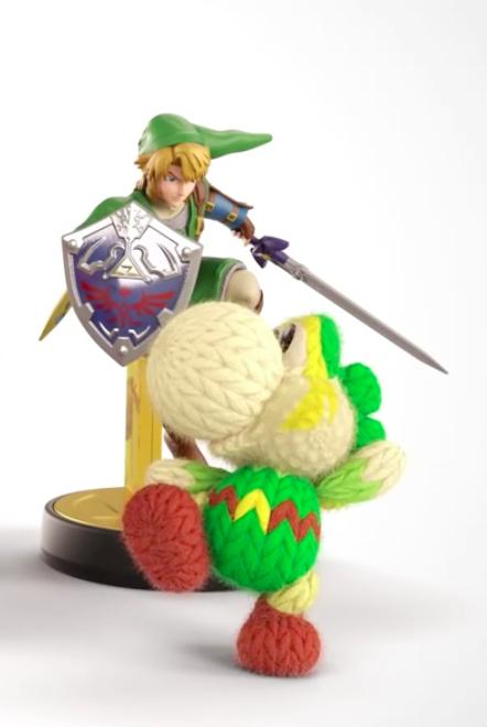 Link amiibo Can Be Used In Yoshi\u0027s Woolly World