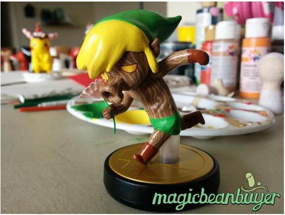 Custom Amiibo Showcase Zelda Dungeon