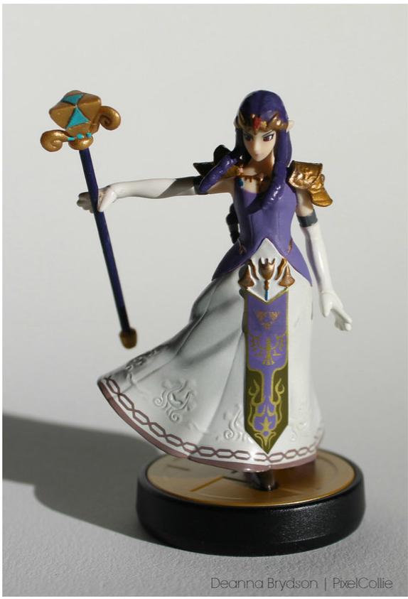 http://pixelcollie.deviantart.com/art/Princess-Hilda-Custom-Amiibo-Figure-513455661