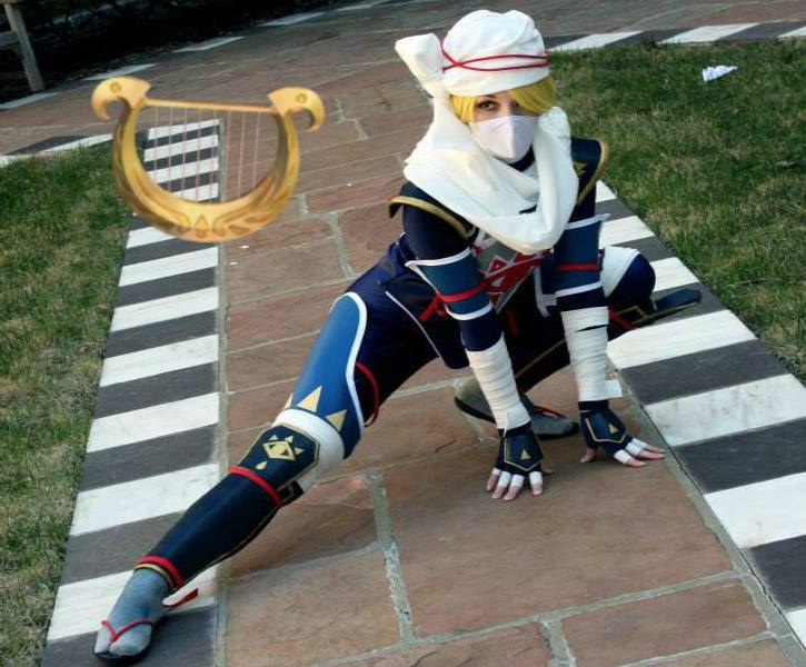 Unique Electronic Goddess Harp Tops Off An Impressive Sheik Cosplay