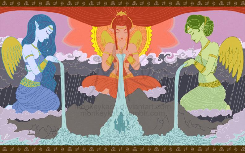 http://monkeykaos.deviantart.com/art/Sorrow-of-the-Goddesses-337340169