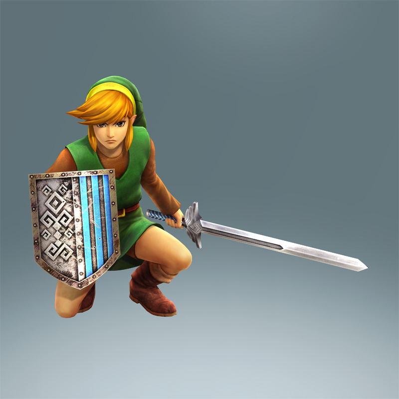Classic Link Tunic Footage From Hyrule Warriors Zelda Dungeon