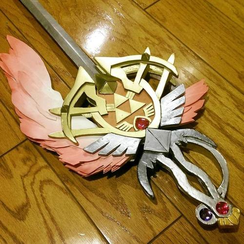 Reddit User Makes A Real Gleaming Rapier From Hyrule