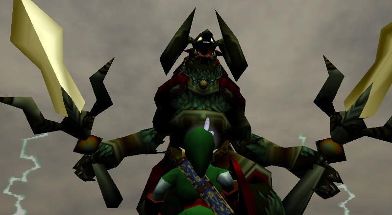 Zd Top Ganon Battles Zelda Dungeon