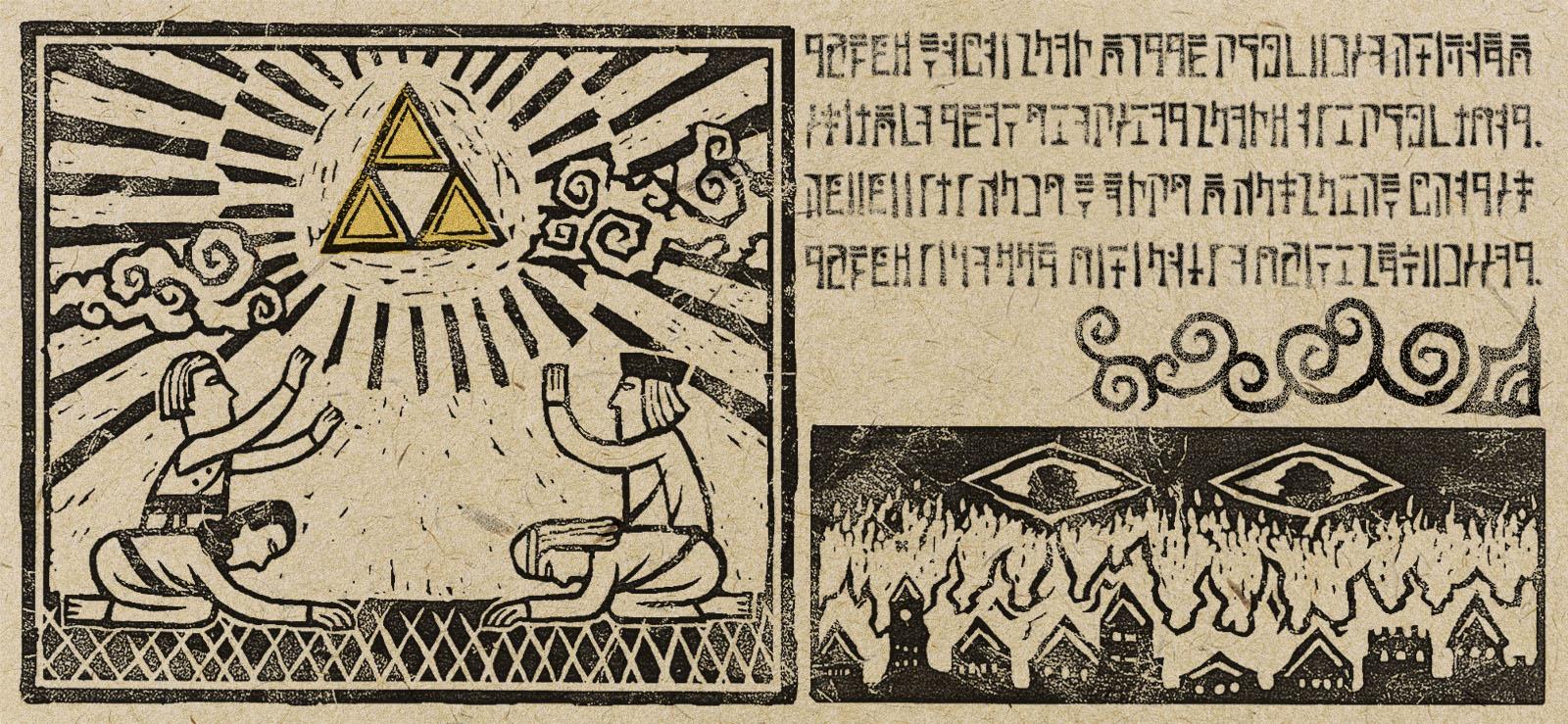The Women of Legend: Din, Nayru and Farore - Zelda Dungeon
