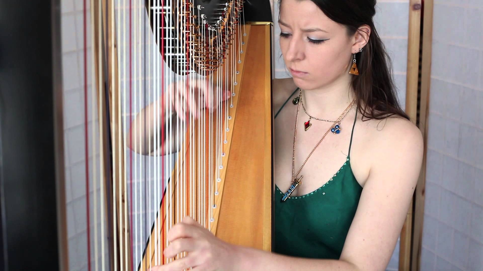 Professional Harp Cover Of The Great Fairys Fountain Zelda Dungeon