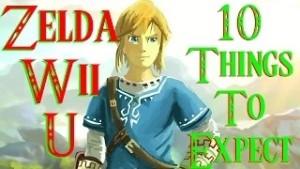 Zelda U top ten things to expect
