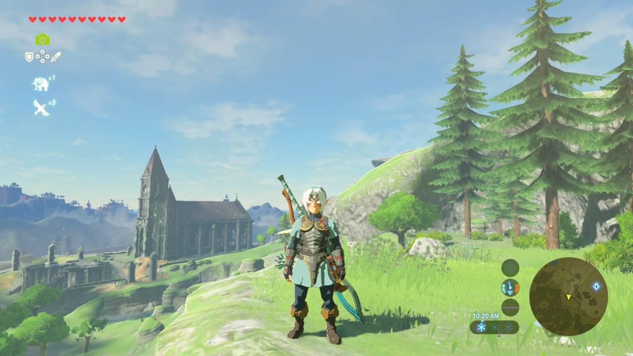 Unreleased Zelda amiibo Unlock Special Costumes in Breath of the
