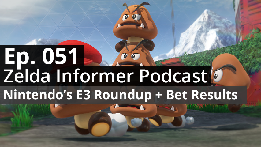 ZI Podcast Ep. 051 - Nintendo's E3 Roundup + Bet Results