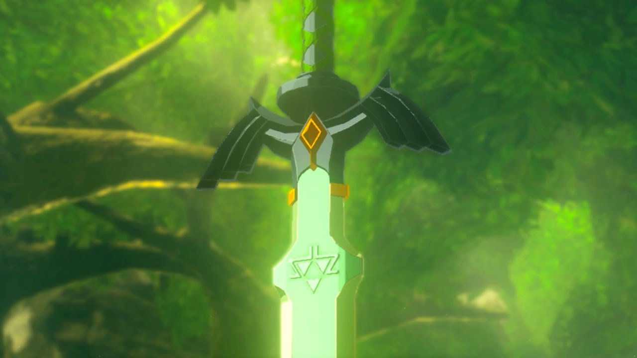 Daily Debate Should Dps Be Higher For The Master Sword In Breath Of The Wild Zelda Dungeon