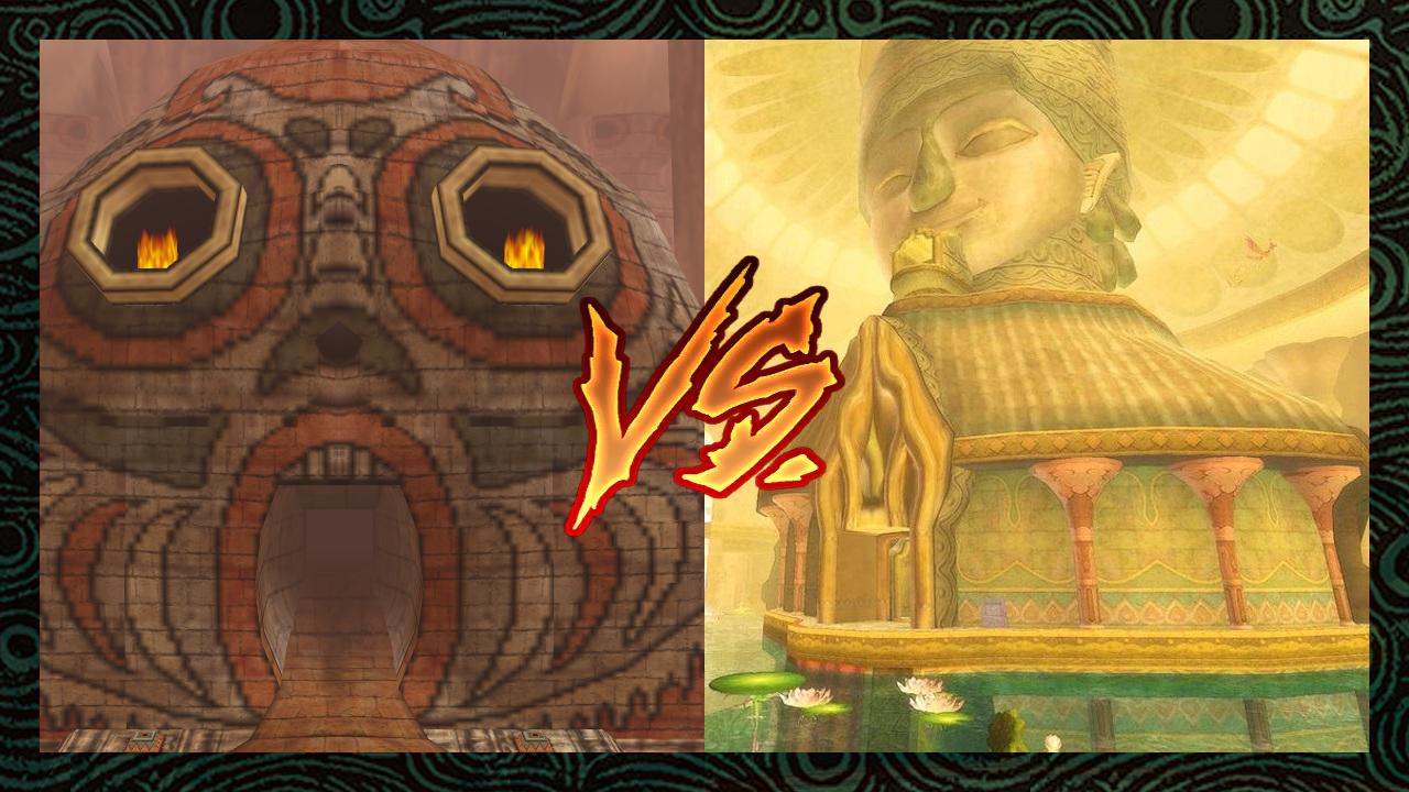 Zelda Informer Versus: Best Dungeon Tournament - Semi-Finals - Stone Tower Temple Vs. Ancient Cistern