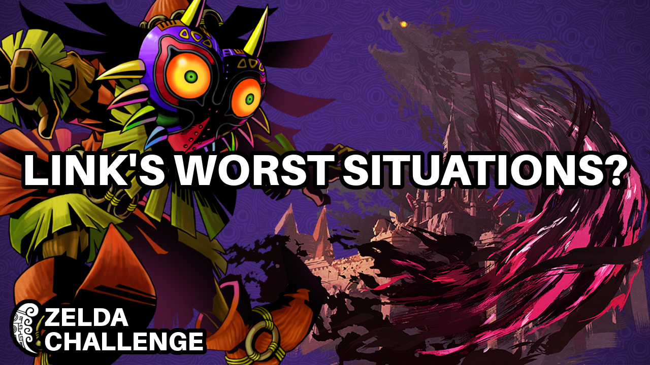 Zelda Challenge - Which Game Put Link Through the Worst Situations?