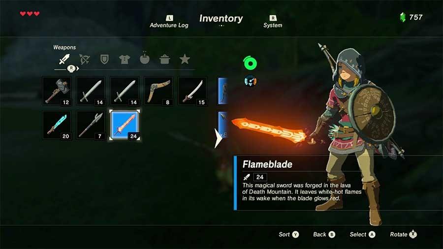 Breath of the Wild's Developers Explain Why Weapons Break - Zelda