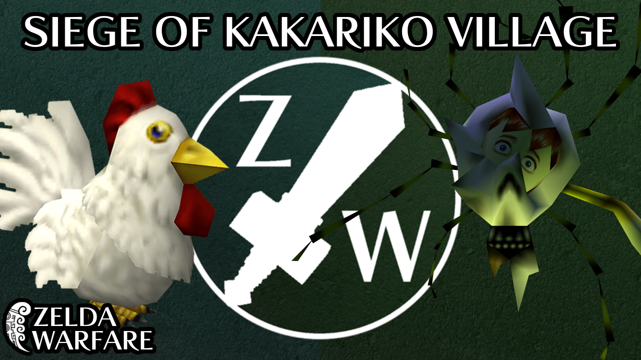 Zelda Warfare Campaign 3 - The Siege of Kakariko Village