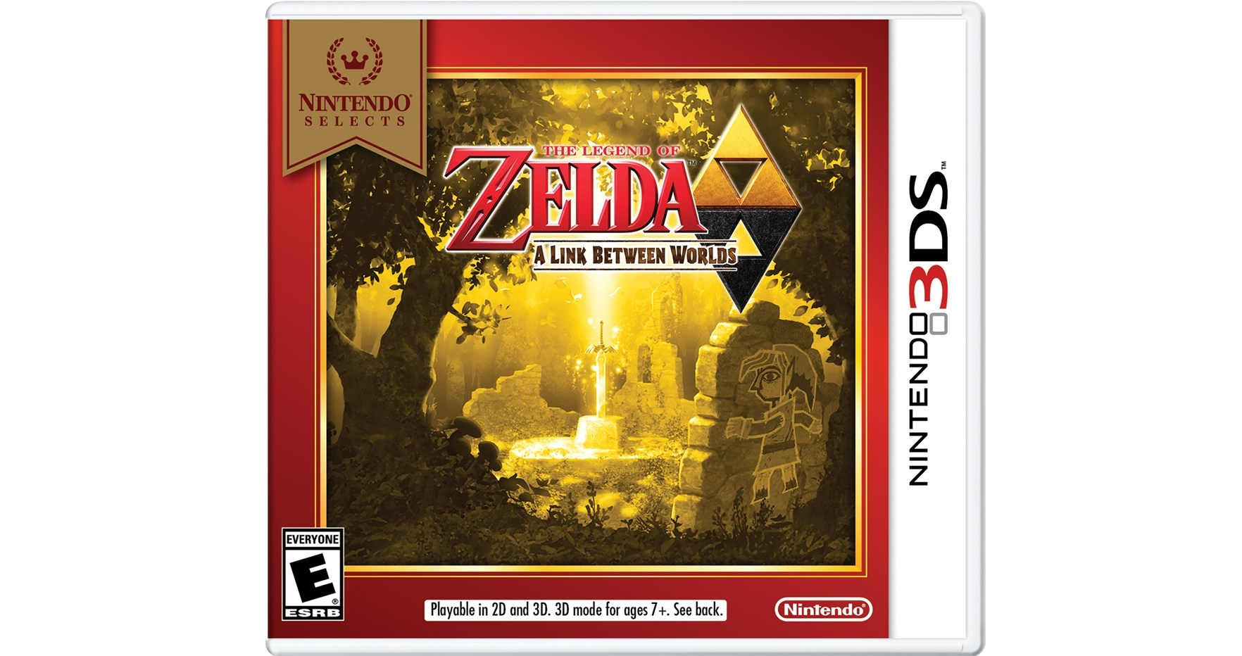 A Link Between Worlds Joins Nintendo Selects Line of Games, Available for $19.99 on February 5th