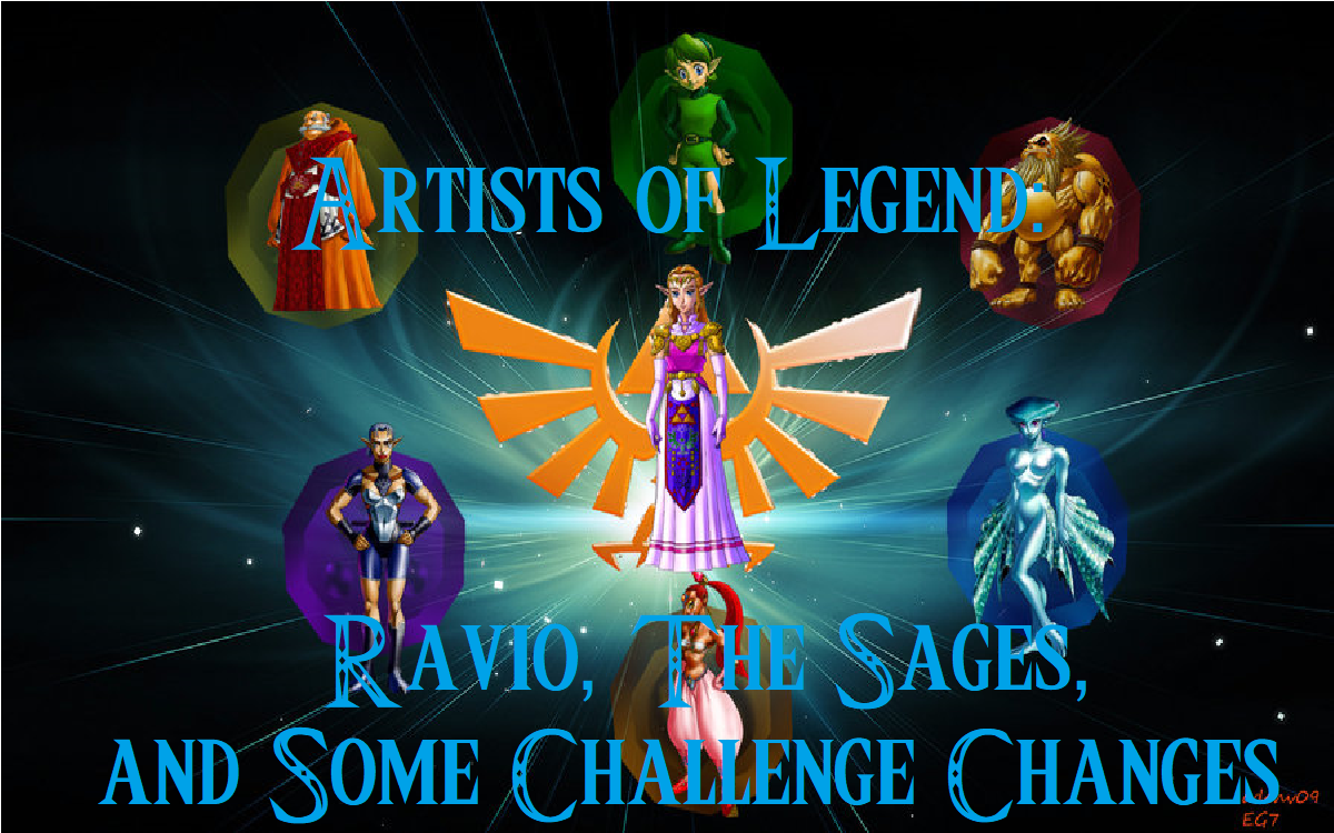 Artists Of Legend: Ravio, The Sages, And Some Challenge Changes