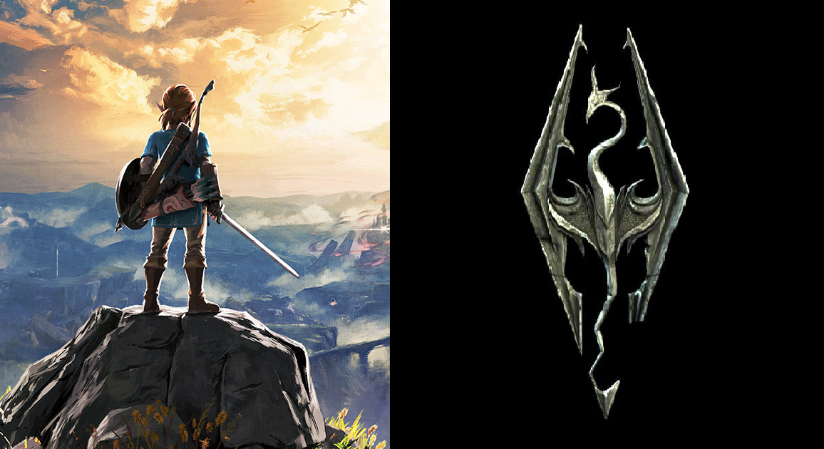 eiji aonuma confirms skyrim was researched to help with development