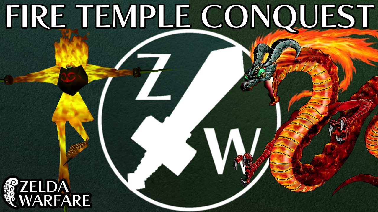 Swordless, No L Targeting Fire Temple Race - Zelda Warfare