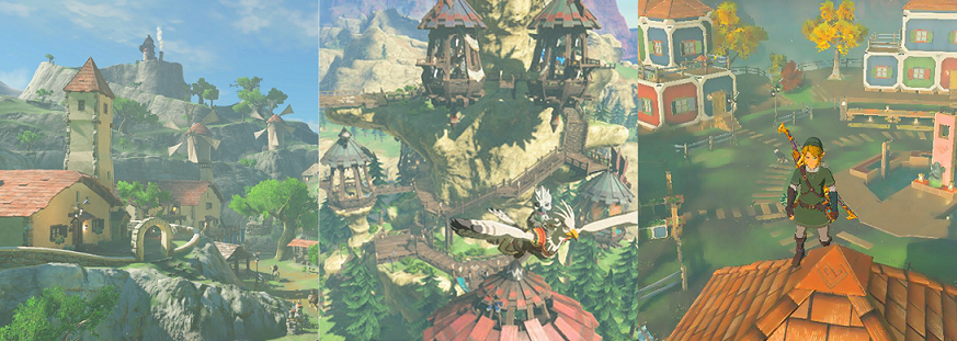 Daily Debate Which Town Has The Best Theme Song In Breath Of The Wild Zelda Dungeon