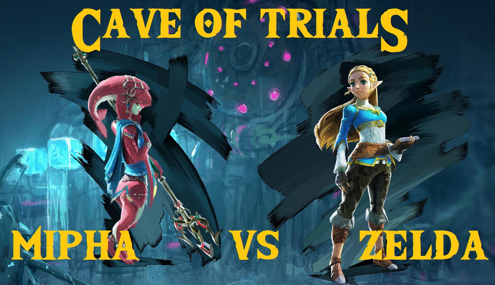 Cave of Trials: Week 25 - Mipha vs Zelda + TAG TEAM TITLE