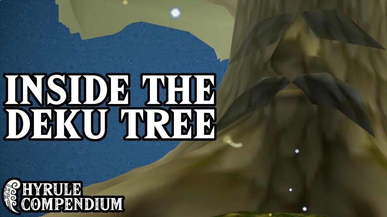 Inside the Deku Tree: Zelda's Best First Dungeon - Hyrule Compendium