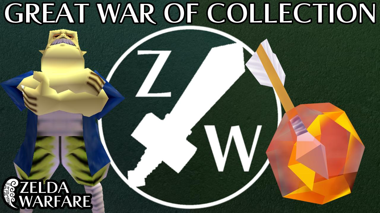 The Great War of Collection - Zelda Warfare