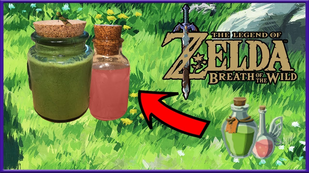 learn to make the energizing elixir and fairy tonic from breath of the wild zelda dungeon. Black Bedroom Furniture Sets. Home Design Ideas