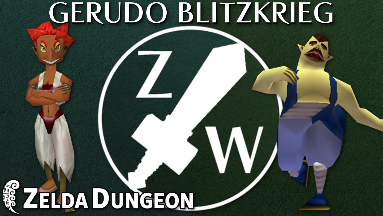 The Gerudo Blitzkrieg - Zelda Warfare