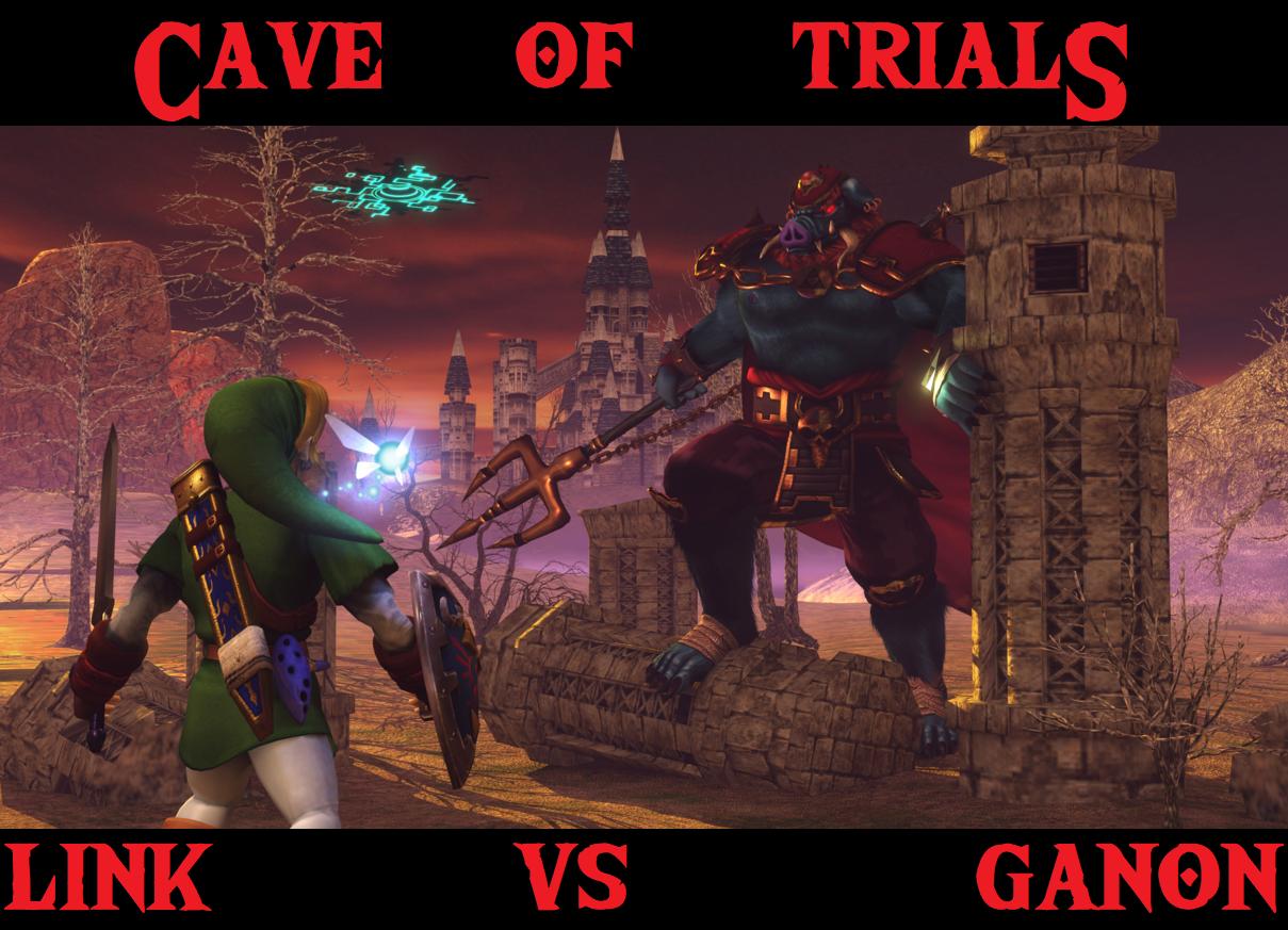Cave Of Trials Week 33 Link Vs Ganon Money In The Bank